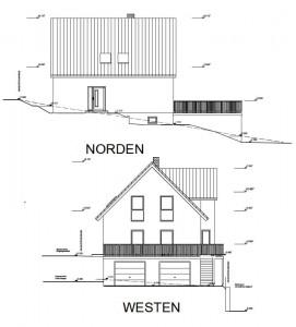 Ansicht Norden und Westen