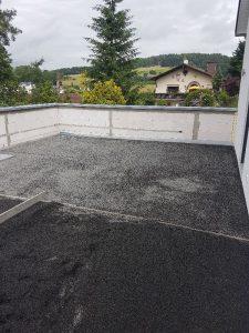 Splittbett Terrasse- abgezogen